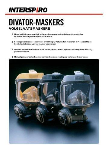 divator-maskers volgelaatsmaskers - Interspiro
