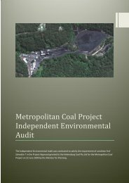 Metropolitan Coal Project Independent ... - Peabody Energy
