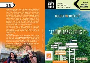 BOLBEC BRÉAUTÉ - Département de Seine-Maritime