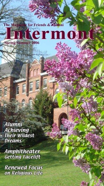 Alumni Achieving Amphitheater Renewed Focus - Virginia Intermont ...