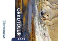 Orkutölur 2009 - Orkustofnun