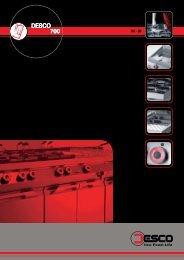 DESCO 700 O DESCO D 070 - Thuis in uw bedrijfskeuken!