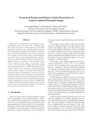 Foreground-Background Regions Guided Binarization of Camera ...