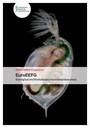 EuroEEFG - European Science Foundation