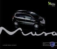 LISTINo prEZZI 07 / 2012 - Fiat Group Automobiles Press