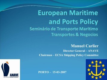 Green Paper on a Future Maritime Policy - Transportes e Negocios