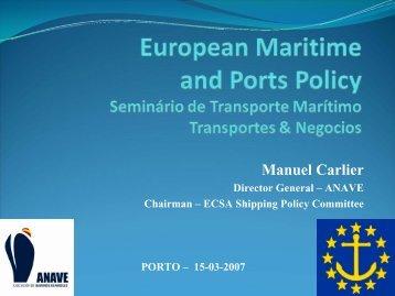 Green Paper on a Future Maritime Policy - Transportes e Negocios