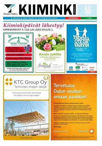 kiiminki - Pudasjärvi-lehti ja VKK-Media Oy