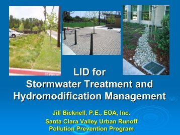 LID for Stormwater Treatment and Hydromodification Management