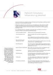 Network Consultancy: Infrastruktur og sikkerhed - csc