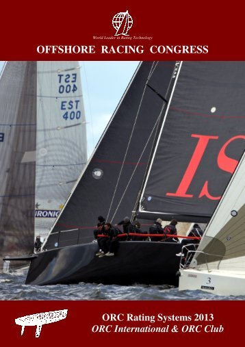 ORC Rating Systems - Offshore Racing Council