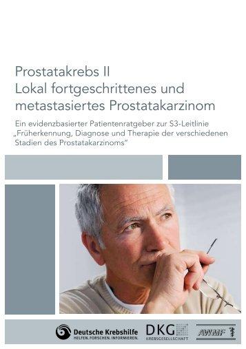 Lokal fortgeschrittenes und metastasiertes Prostatakarzinom