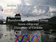 K - Computational Intelligence and Bioinformatics Research Group ...