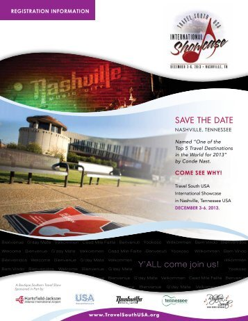 Download the brochure - Travel South USA