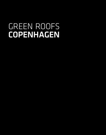green roofs COPENHAGEN - Klimatilpasning