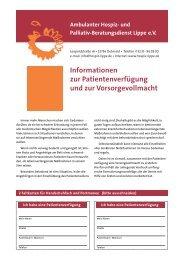 (PDF-Datei, 226 KB). - Ambulanter Hospiz- und Palliativ ...