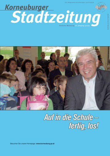 Stadtzeitung 3/2009 - Korneuburg