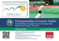 OPEN 2011 - Tennis Ireland