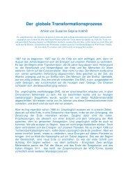Der globale Transformationsprozess - Heilkreise.com