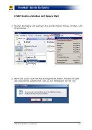 POP3 E-Mail Konto erstellen mit Outlook Express - Web