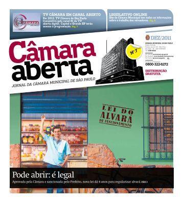 Pode abrir: é legal - Governo do Estado de São Paulo