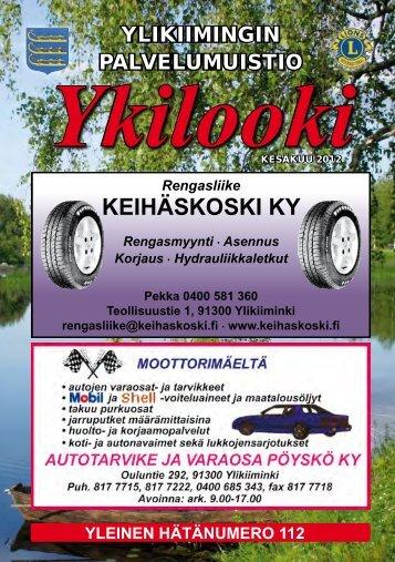 Ykilooki - Pudasjärvi-lehti ja VKK-Media Oy