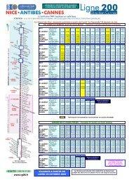www.cg06.fr VALABLES A PARTIR DU LUNDI 26 OCTOBRE 2009