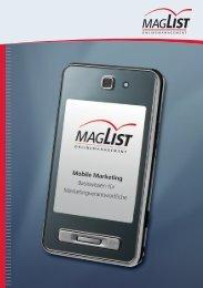 Mobile Marketing – Basiswissen für Marketingverantwortliche - Maglist