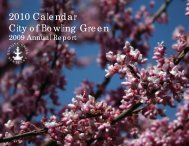 Annual Report - City of Bowling Green, KY