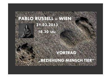 Einladung Vortrag Mensch Tier Beziehung_21.02.2013 - Groops