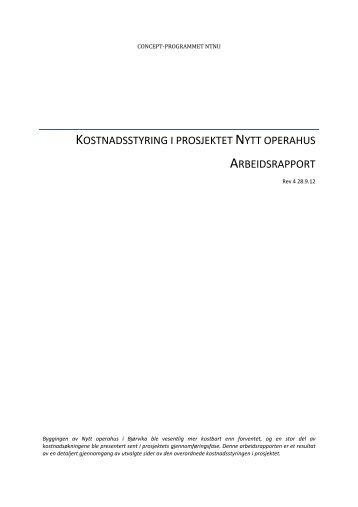 Kostnadsstyring nytt operahus - Concept - NTNU