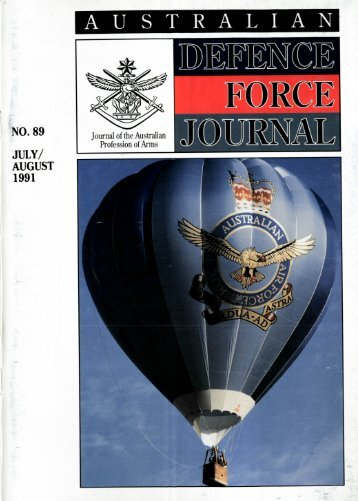 ISSUE 89 : May/Jun - 1991 - Australian Defence Force Journal