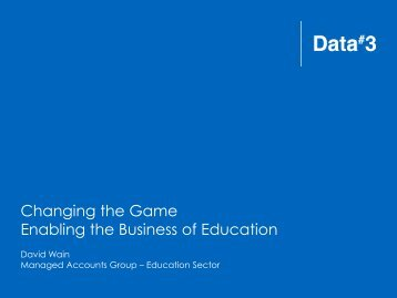 Data3 Corporate Presentation Template