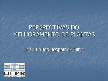 PERSPECTIVAS DO MELHORAMENTO DE PLANTAS
