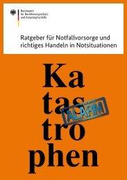 Ratgeber für Notfallvorsorge und richtiges Handeln in ... - Chemtrail.de