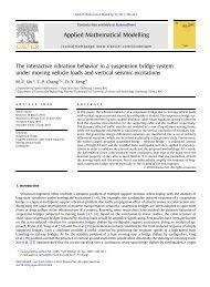 The interactive vibration behavior in a suspension bridge system ...