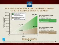 new minto energy star® certified homes utility savings over 10 years!