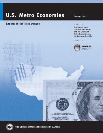 U.S. Metro Economies, Exports in the Next Decade