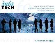 InnovatIon at work - Info Tech, Inc.