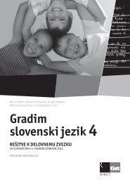 (posodobljena izdaja 2009) - rešitve delovnega zvezka
