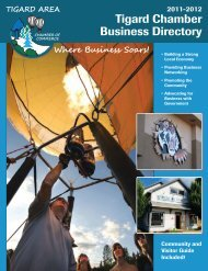 Tigard Chamber Business Directory