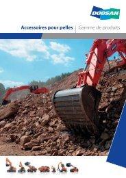 Accessoires pour pelles | Gamme de produits - Applications services