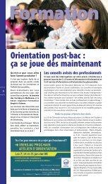 Orientation post-bac : ça se joue dès maintenant - JDS.fr