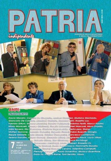 patria indipendente l 28 gennaio 2005 l 1 ISSN 0031-3130 ... - Anpi