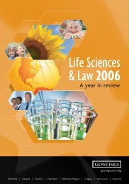 A year in review - Life Sciences