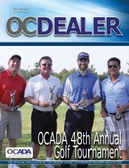 SPRING 2012 - Orange County Automobile Dealers Association