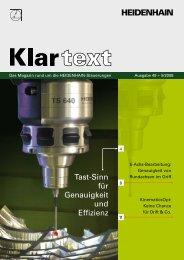 Klartext 49 PDF-Download - Heidenhain