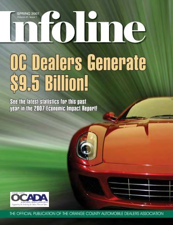 2007 - Orange County Automobile Dealers Association