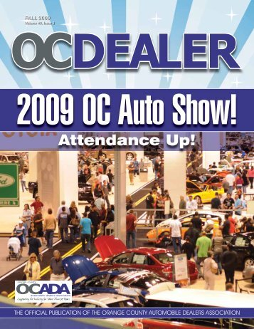 2009 - Orange County Automobile Dealers Association