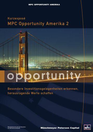 MPC Opportunity Amerika 2 - ohne-agio